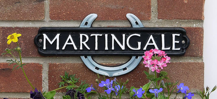 Martingale Cottage Sign