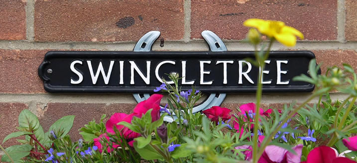 Swingletree Cottage Sign